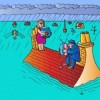Ketika Kegiatan Kantor Terkendala Banjir
