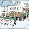 Demo Buruh Tahunan Versus Harian